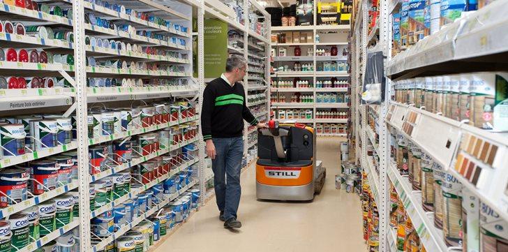 Logistyka wewnętrzna w branży retail