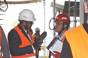 Wymiana doświadczeń w zakresie bezpieczeństwa pracy