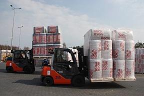 Współpraca  Toyota Material Handling Polska i ROCKWOOL Polska