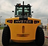 Spacesaver firmy Hyster o udźwigu 7 ton, do  wymagających warunków