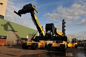 Wózki Hyster Big Truck w firmie Zuidnatie