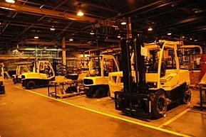 Hyster dowodzi, że brytyjska produkcja wózków widłowych jest wciąż silna