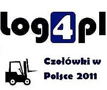 """""""Czołówki w Polsce 2011"""" – raport o rynku czołowych wózków widłowych"""