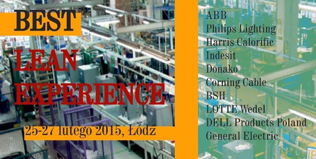 1st Best Lean Experience Forum