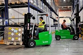 Nowe maszty IMD w wózkach CESAB