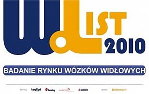 Widlak List 2010 – wózki widłowe w województwach