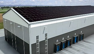 Hale magazynowe zasilane energią solarną
