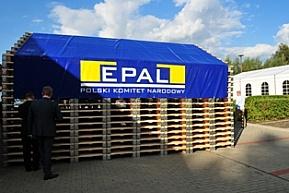 Okrągłe rocznice palety EUR
