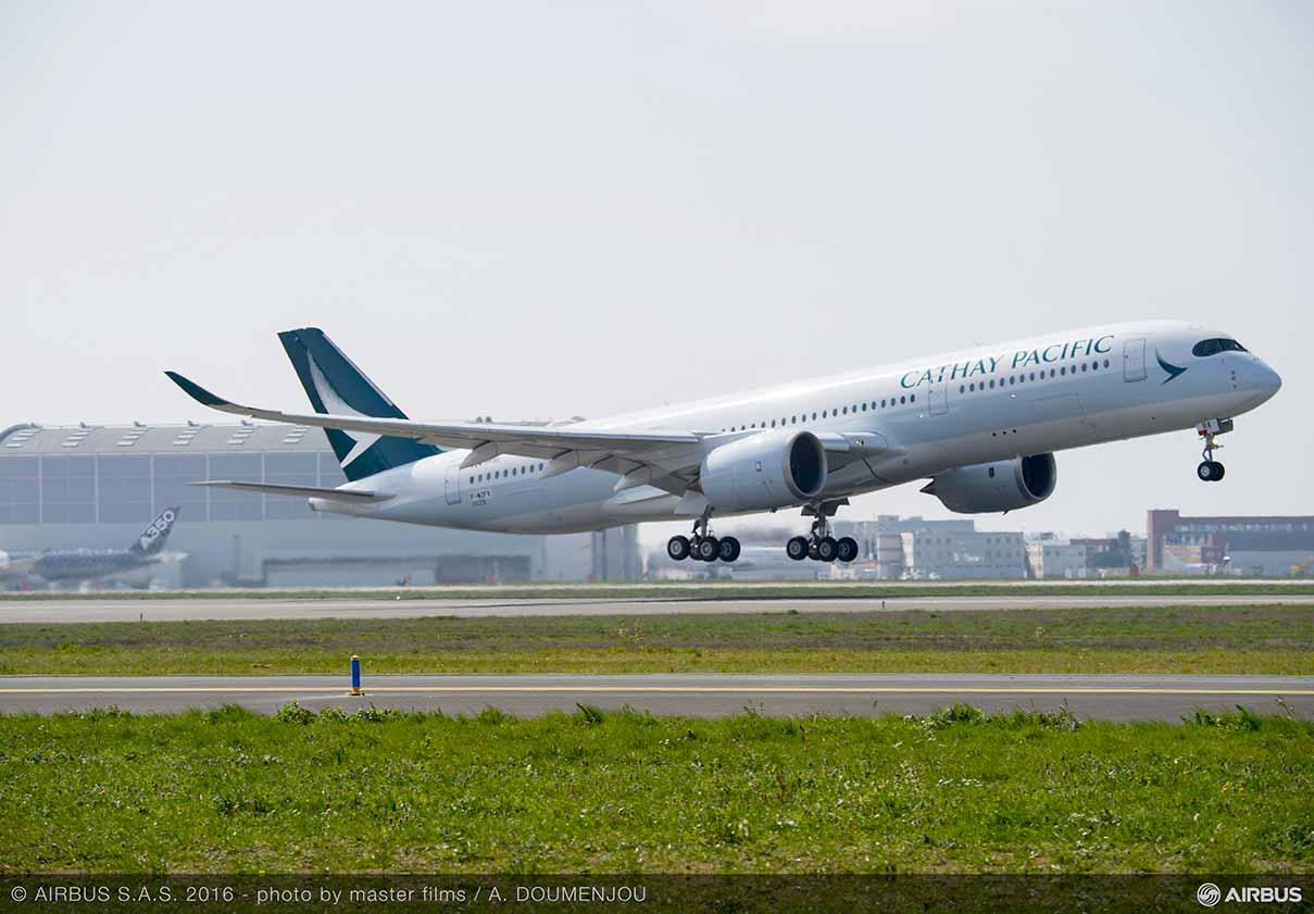 Cathay Pacific Airways zostaje nowym operatorem A350 XWB