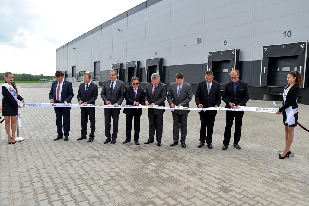 Uroczyste otwarcie pierwszej hali Waimea Logistic Park Korczowa