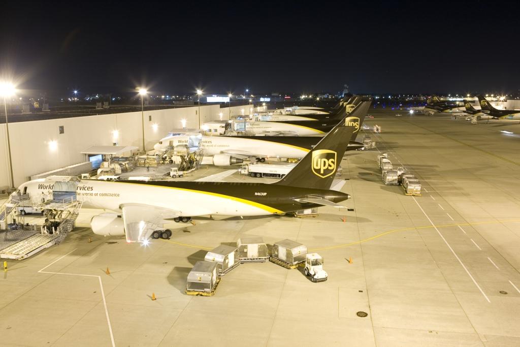 UPS notuje rekordowy zysk