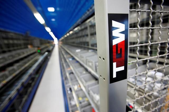 System logistyczny TGW w Zalando