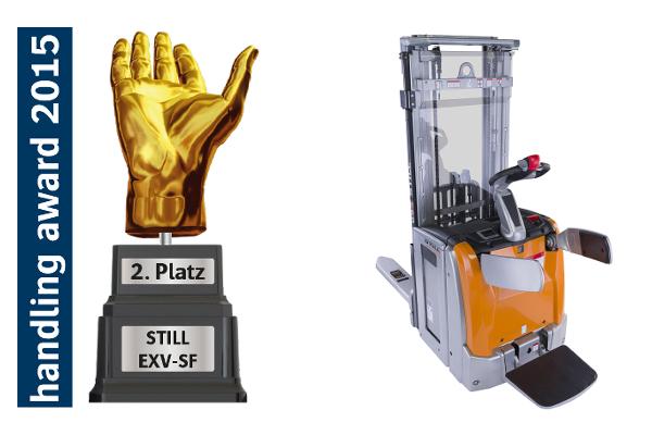 Handling Award 2015 dla STILL EXV!