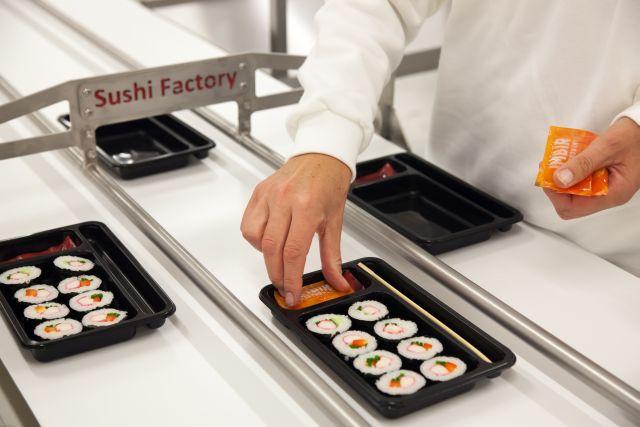 Fabryka sushi w wielkopolskim Robakowie