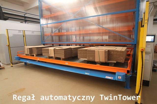 Regał TwinTower do składowania palet