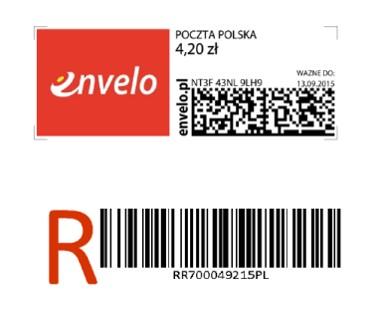 Elektroniczny znaczek pocztowy hitem Envelo