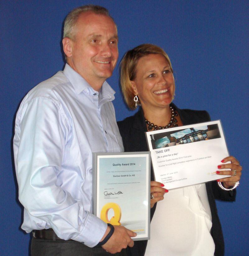 Dachser z nagrodą od Lufthansa Cargo