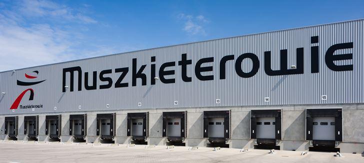 Nowe centrum logistyczne Grupy Muszkieterów