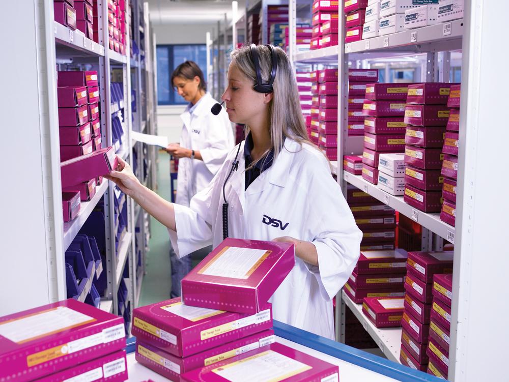 DSV obsłuży lidera rynku farmaceutycznego