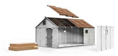 Gotowe domy wprost z magazynu DSV Solutions