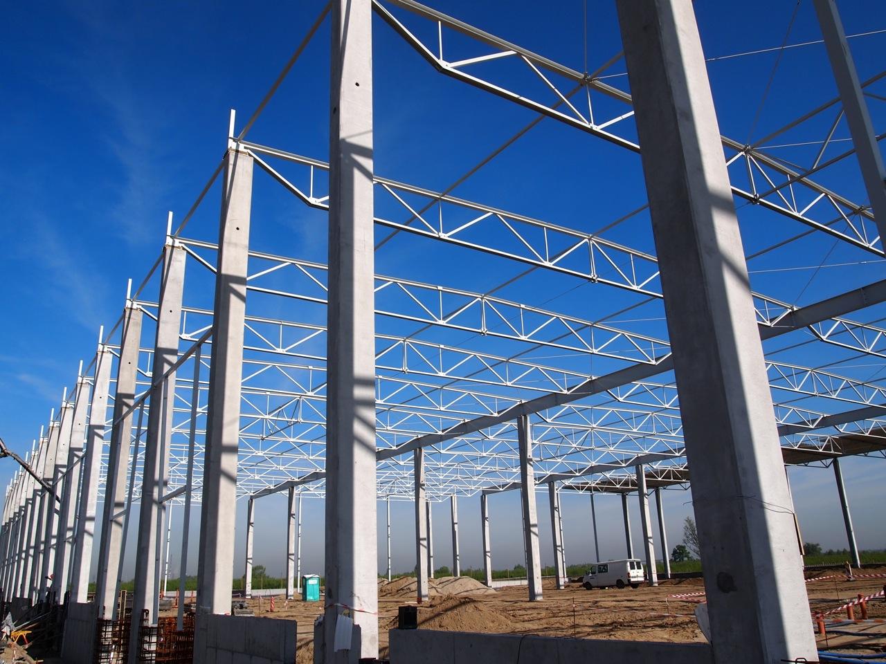 Postępy na budowie w Kokotowie