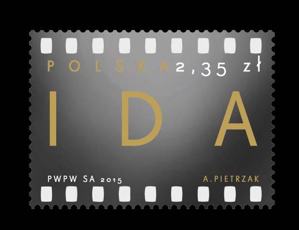 """""""Ida"""" – oskarowy znaczek Poczty Polskiej"""