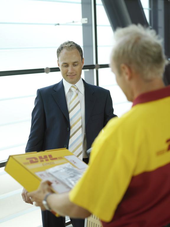 Kampania informacyjna DHL Express