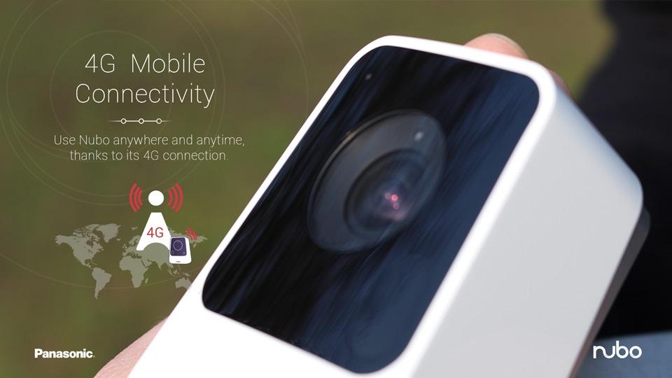 Panasonic Nubo - kamera do monitoringu wizyjnego 4G