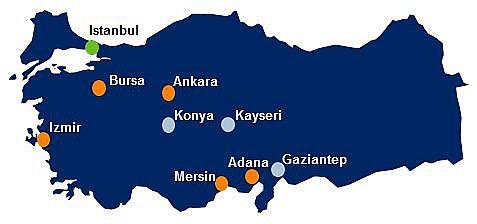 DSV coraz silniejsze na rynku tureckim