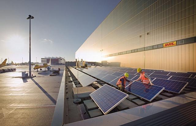 Deutsche Post DHL dla zielonej energii
