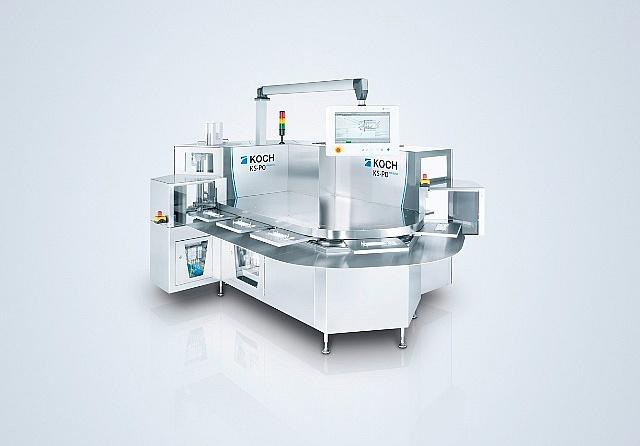 Nowa maszyna pakująca dla medycyny