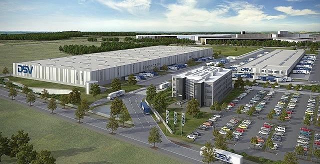 Nowoczesne centrum logistyczne w Niemczech