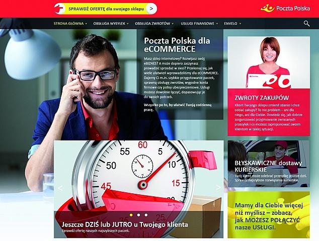 Serwis www dla elektronicznego handlu