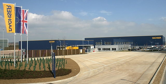 Nowe centrum logistyczne Dachser w Northampton
