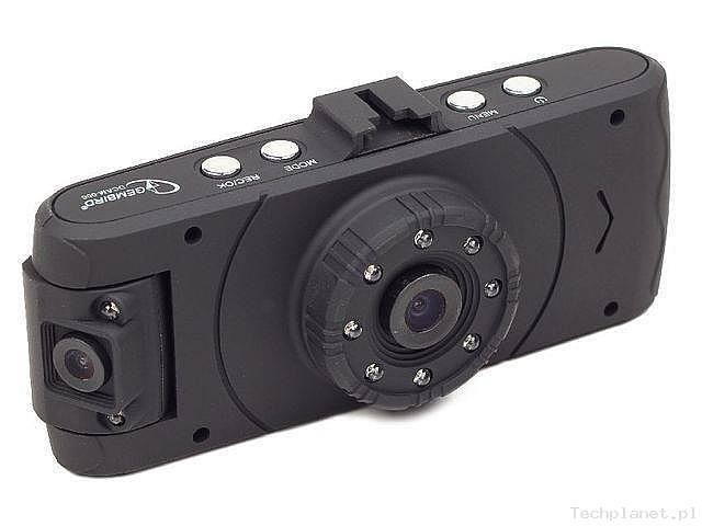 1 kamera, 2 obiektywy – Gembird wprowadził nowy rejestrator samochodowy