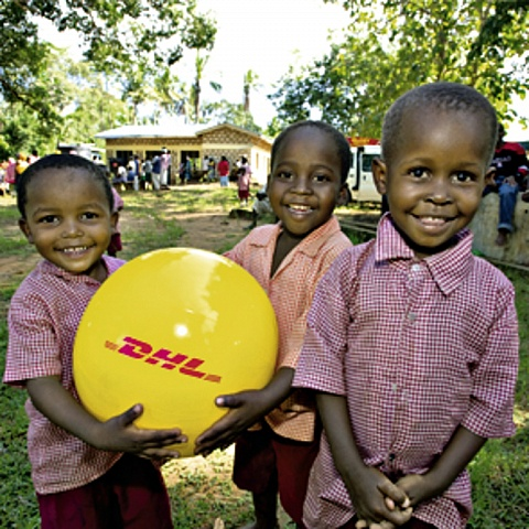 Projekty CSR w raporcie Deutsche Post DHL