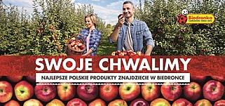 Polskie produkty w Biedronce