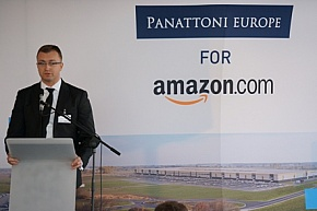 Panattoni Europe i Amazon wmurowali kamień węgielny
