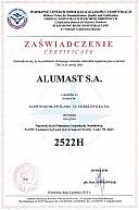 ALUMAST certyfikowany przez NATO