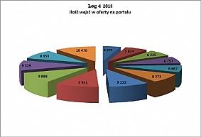 Zachowania rynkowe na portalu - podsumowanie 2013