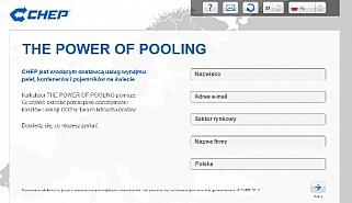,,Power of Pooling''  kalkulator kosztów CHEP