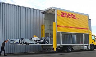 DHL przewozi Formułę E na całym świecie
