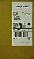 Etykiety UPS z miejscem na reklamę