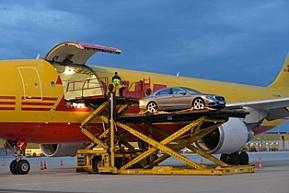 DHL przewiózł nowego Mercedesa klasy S
