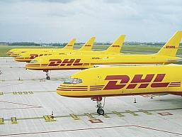 Nowy samolot DHL Express (Poland) do obsługi przesyłek