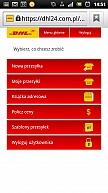 DHL24 dla użytkowników urządzeń mobilnych