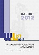 """Raport  o rynku wózków widłowych """"Widlak List 2012"""