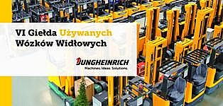 VI Giełda Używanych Wózków Widłowych Jungheinrich.