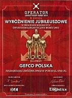 GEFCO Polska z nagrodą