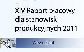 XIV raport płacowy dla stanowisk produkcyjnych
